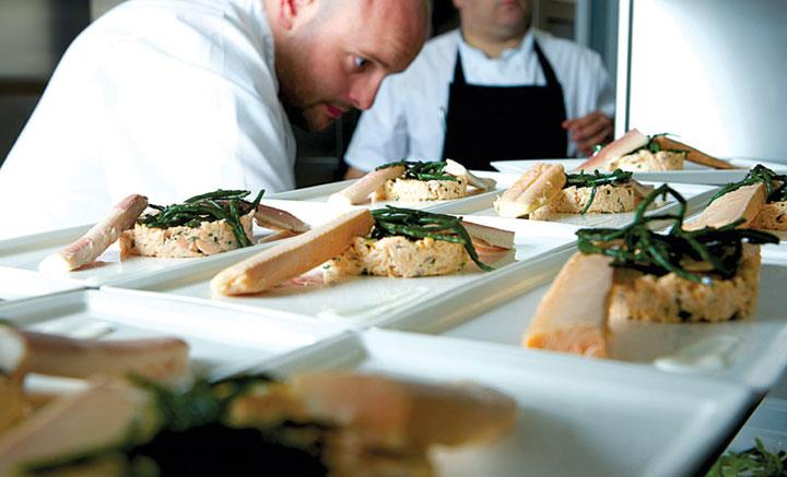 Catering Food Salmon
